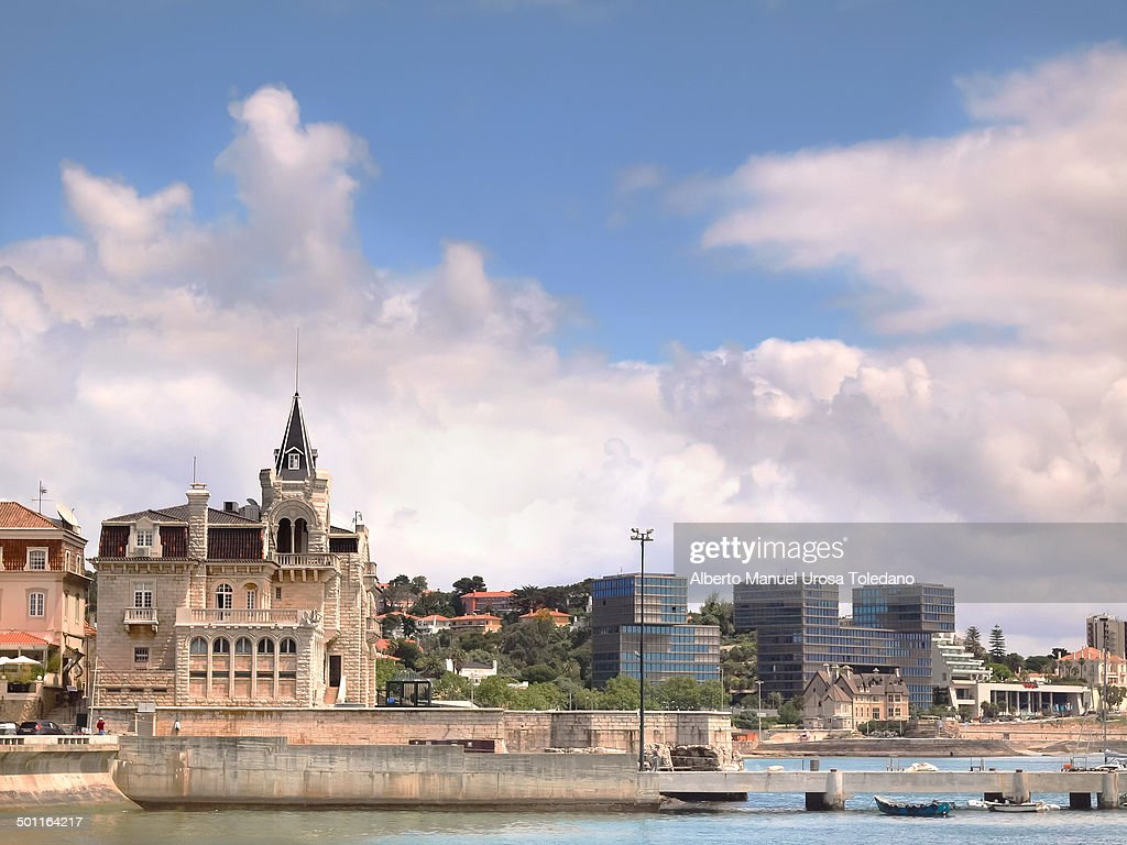 CONTENT] A view of Cascais beaches of Rainha and Peixe and the Palace of Seixas Cascais a main tourist destination in Portugal since 19th century