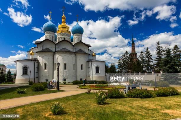 View Of Cathedral At Kazan Kremlin Against Sky