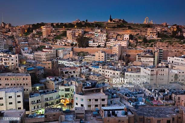 View of Central Amman and Citadel