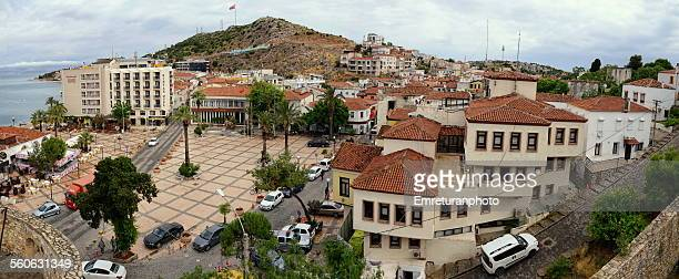 View of cesme town square