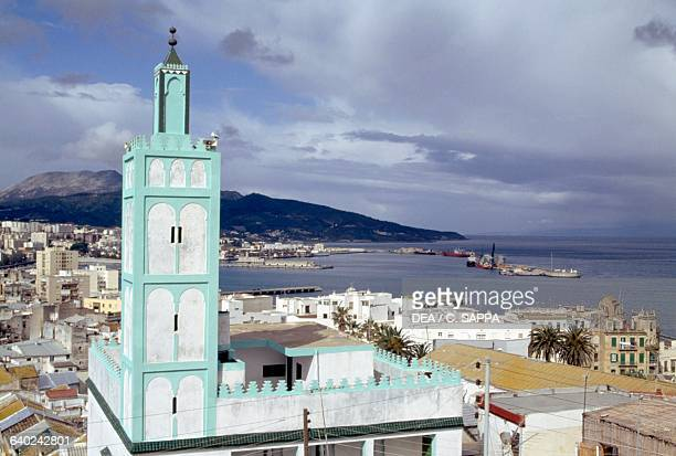 View of Ceuta Spanish autonomous city on the Moroccan coast