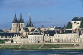 View of Chateau de Blois Loire Valley France