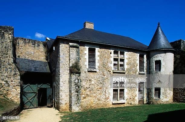 View of Chateau de Sable 17151750 technical centre of the National Library of France Pays de la Loire France 18th century
