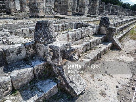 View of Chichen Itza ruins, Mexico : Stock Photo