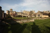 A view of Christ Church College from The Broad Walk on March 22 2012 in Oxford England