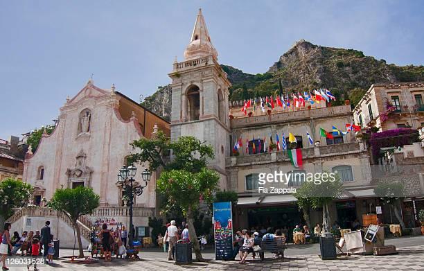View of church at Taormina
