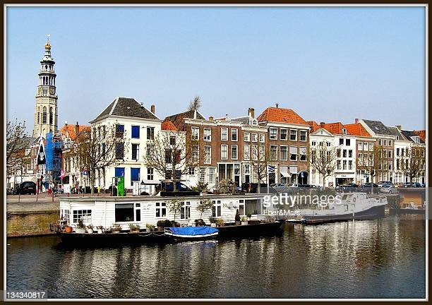 View of city of Middelburg