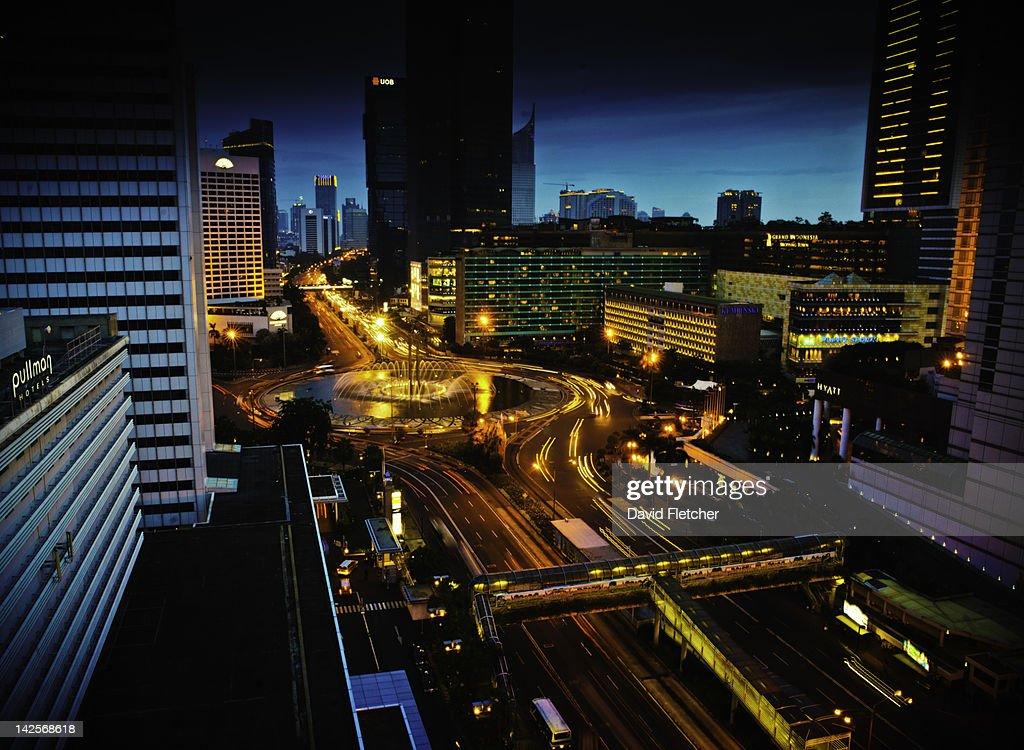 View of city : Stock Photo