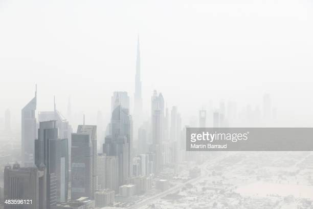 街並みの眺め、ドバイ、アラブ首長国連邦