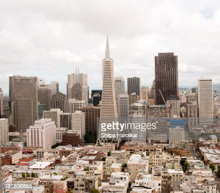 View of cityscape of San Francisco : Stock Photo