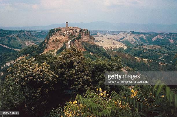 View of Civita di Bagnoregio Lazio Italy