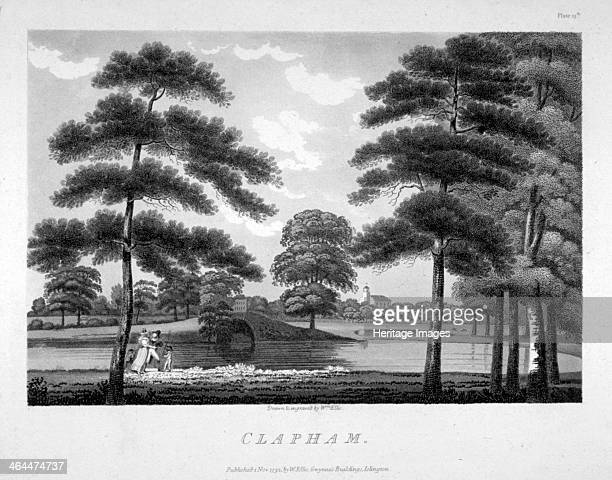 View of Clapham London 1792