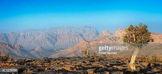 View of Cliffs at Jabal Shams, Oman