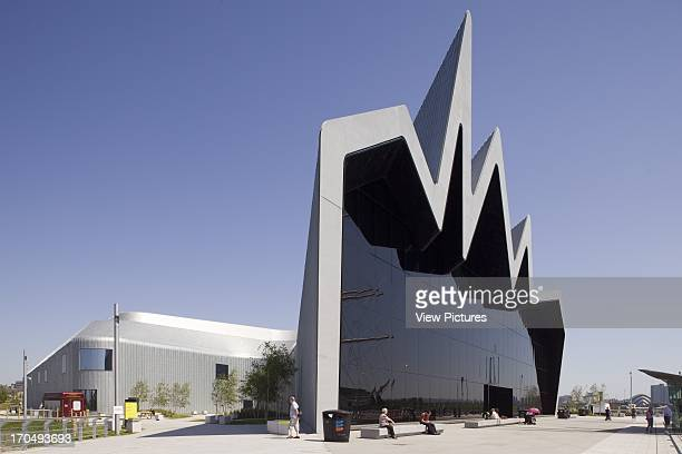 View of Clydeside Exterior Glasgow Riverside Museum of Transport Museum Europe United Kingdom Zaha Hadid Architects