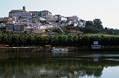 View of Coimbra and the Mondego River in the background the University building or Paco das Escolas Coimbra Centro Portugal