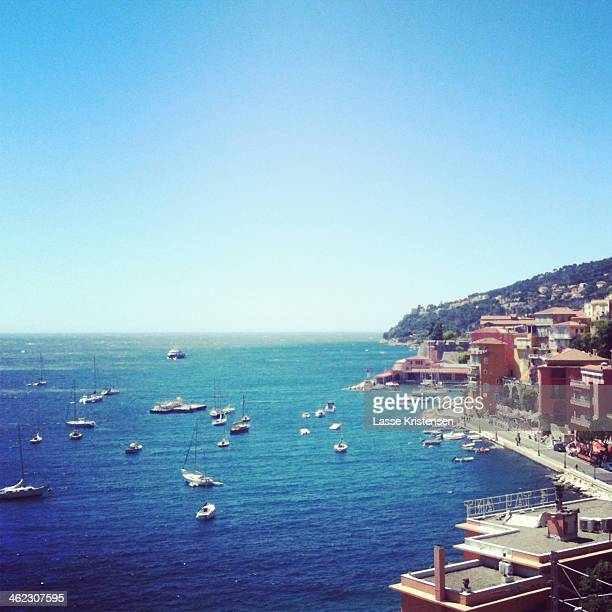 A view of Cote D'Azur, Southern France
