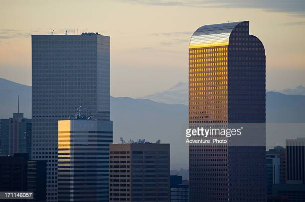 View of Denver Colorado Skyline