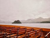 View of Derwentwater from a boat