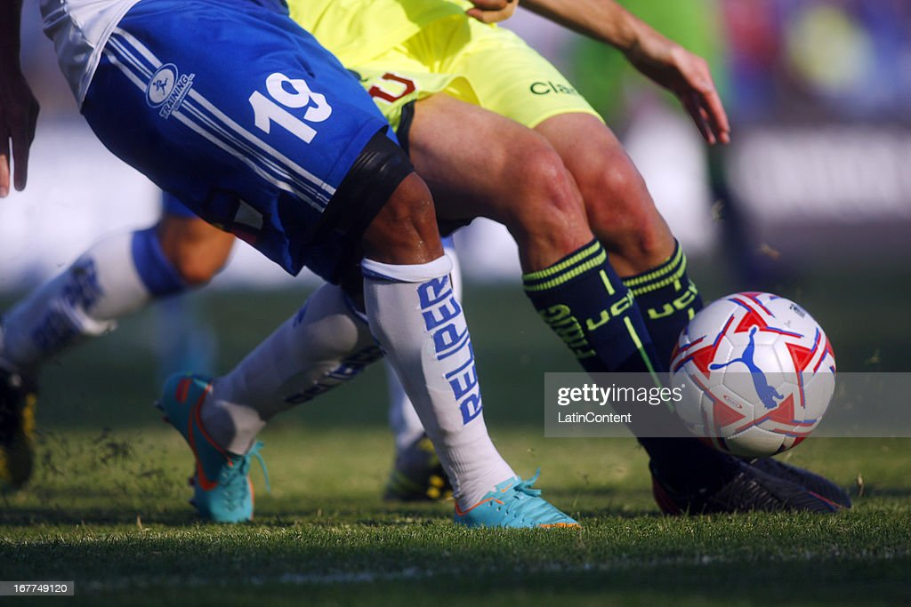 View of details during a match as part of Torneo Descentralizado 2013 at Antofagasta Stadium on April 28, 2013 in Antofagasta, Chile.