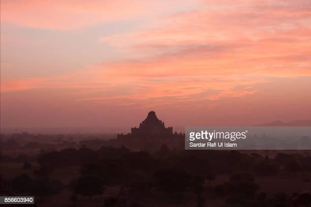 A view of Dhammayangyi temple on sunrise, Bagan, Mandalay Region, Myanmar
