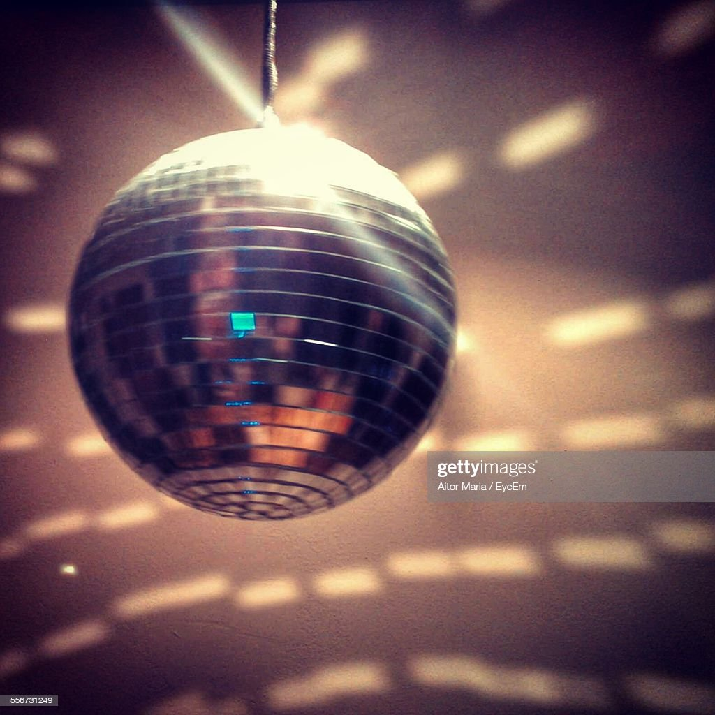 View Of Disco Ball : Stock Photo