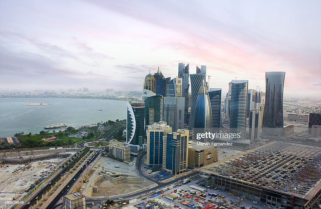 View of Doha Westbay