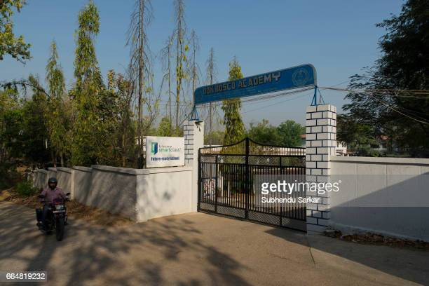 MCCLUSKIEGUNJ RANCHI JHARKHAND INDIA A view of Don Bosco Academy school that has turned the fortunes of the struggling AngloIndian family of...