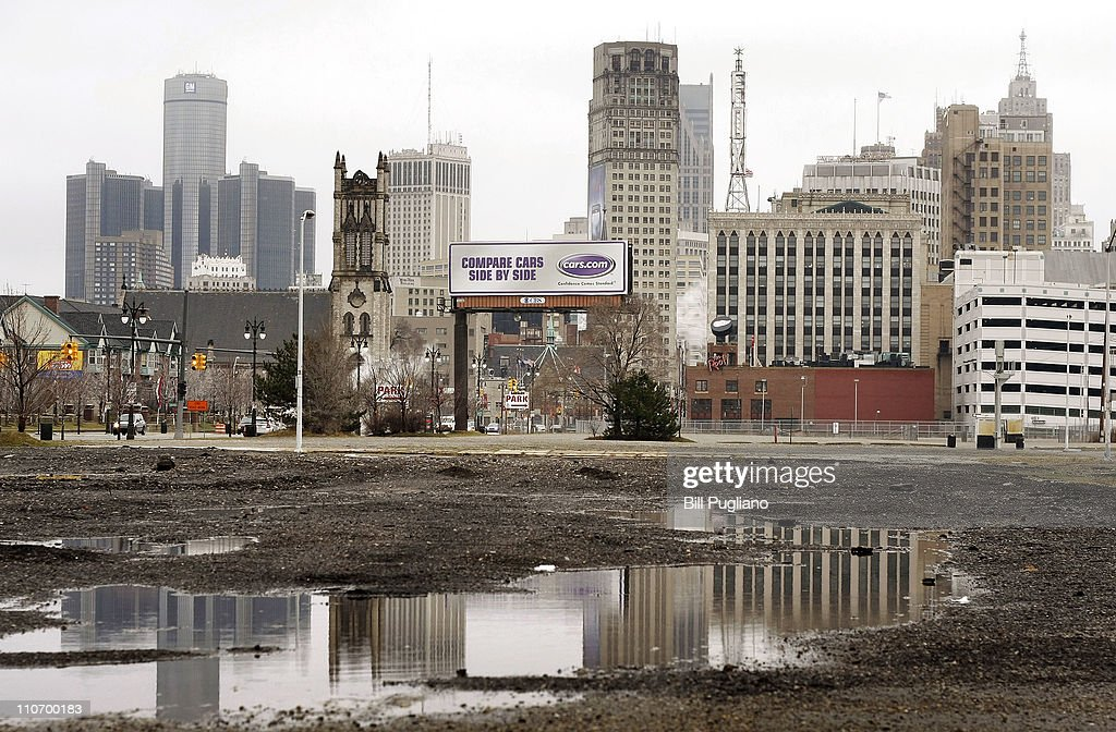 A view of downtown Detroit s shown March 23 2011 in Detroit Michigan The new census figures show that Detroit has lost 25 percent of its population...