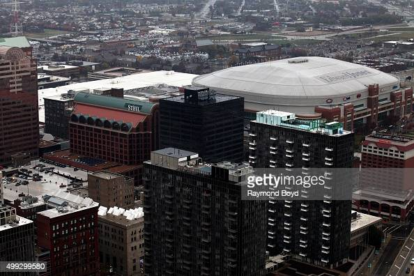Edward Jones Dome Stock Photos and Pictures Getty Images