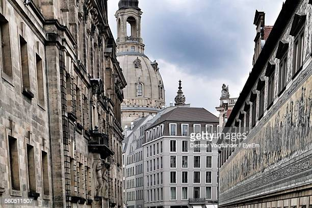 View Of Dresden Frauenkirche Cathedral