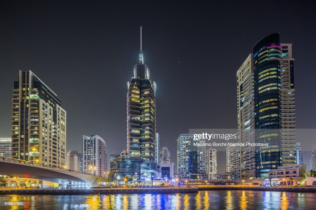 View of Dubai Marina : Stock Photo