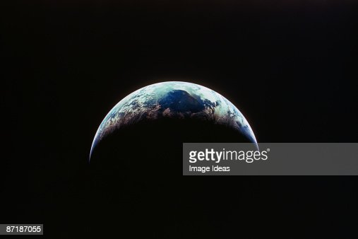 View of Earth from Apollo 7