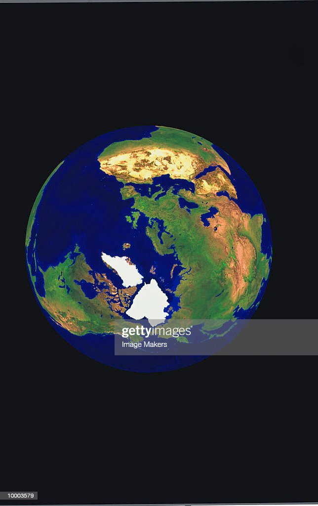 View of earth : Stock Photo