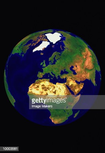View of earth : Stock-Foto