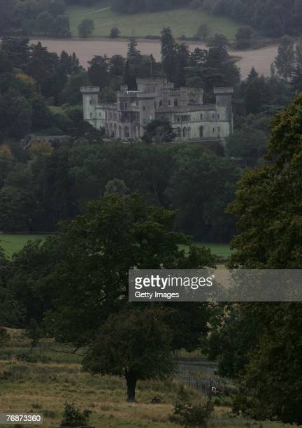 A view of Eastnor Castle during the Land Rover British Eventing OffRoading Day at Eastnor Castle on September 19 2007 in Eastnor England