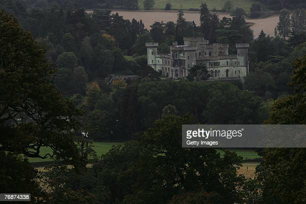 View of Eastnor Castle during the Land Rover British Eventing OffRoading Day at Eastnor Castle on September 19 2007 in Eastnor England
