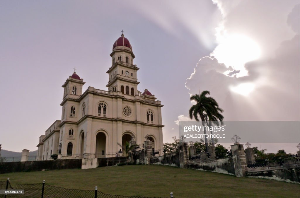View of El Cobre sanctuary in Santiago de Cuba province, taken on December 15, 2009.