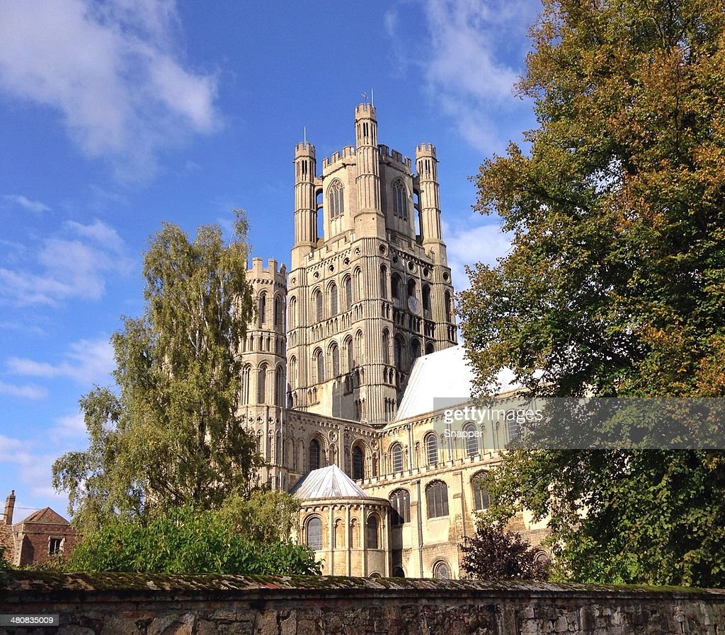 UK, Cambridgeshire, View of Ely Cathedral