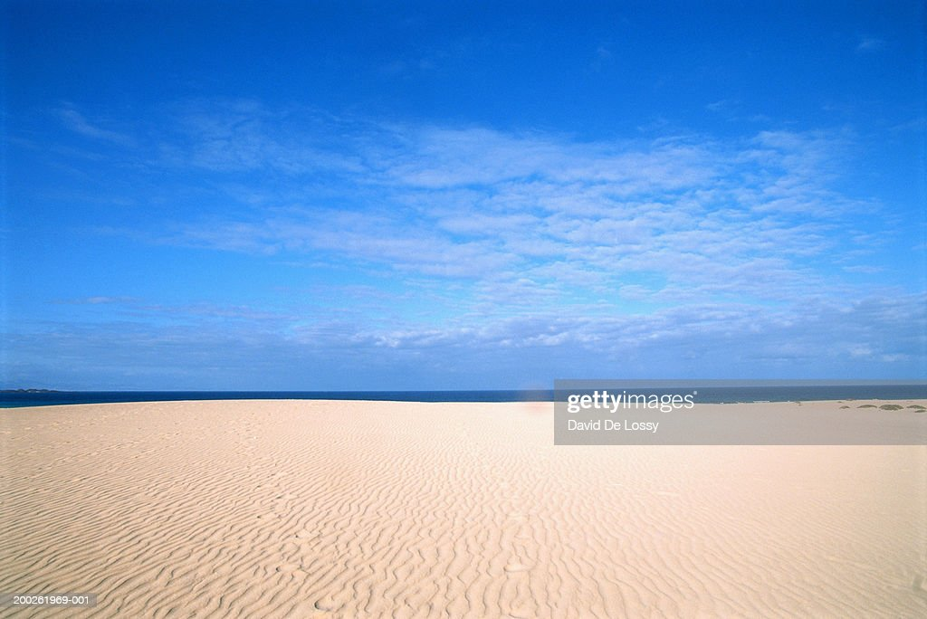 View of empty beach : Stock Photo
