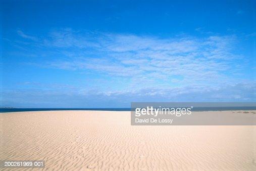 View of empty beach : Foto de stock