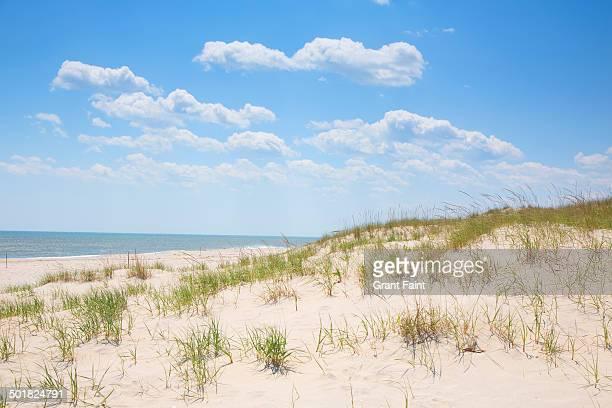View of empty beach