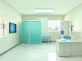 Hospital, Doctor's Office, Three Dimensional, No People, Medical Clinic