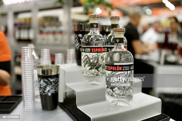 A view of Espolon Tequila Blanco at Southern Glazer's Wine Spirits of New York Trade Tasting presented by Beverage Media Group during the Food...