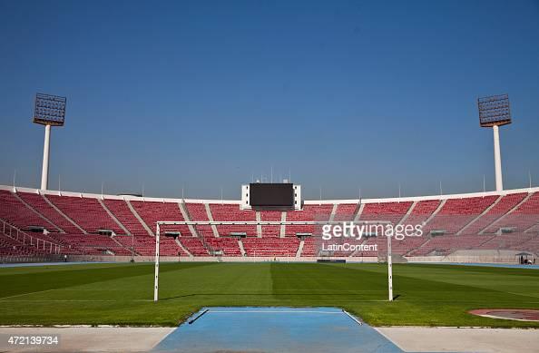 View of Estadio Nacional de Santiago ahead of Copa America Chile 2015 on April 23 2015 in Santiago Chile