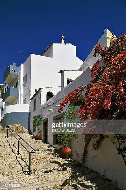 View of Estoi Faro district Algarve Portugal