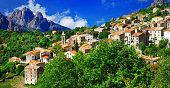Breathtaking landscape of Corsica