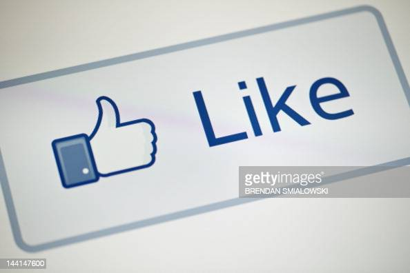 A view of Facebook's 'Like' button May 10 2012 in Washington DC Socialnetworking giant Facebook will go public on the NASDAQ May 18 with its initial...
