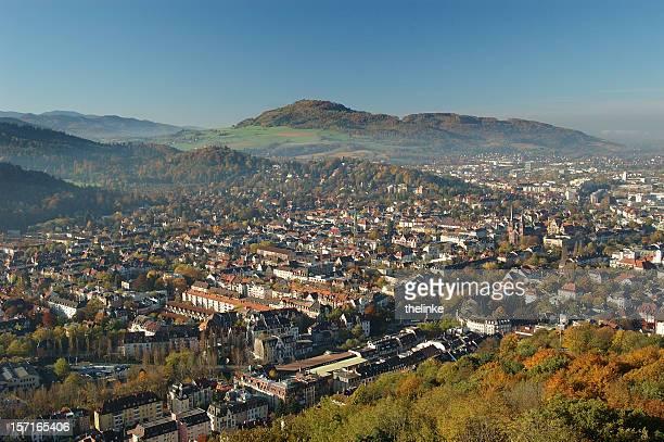 view of Freiburg im Breisgau with Schönberg