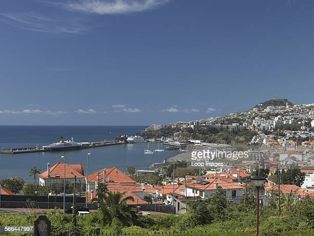 A view of Funchal and its harbour