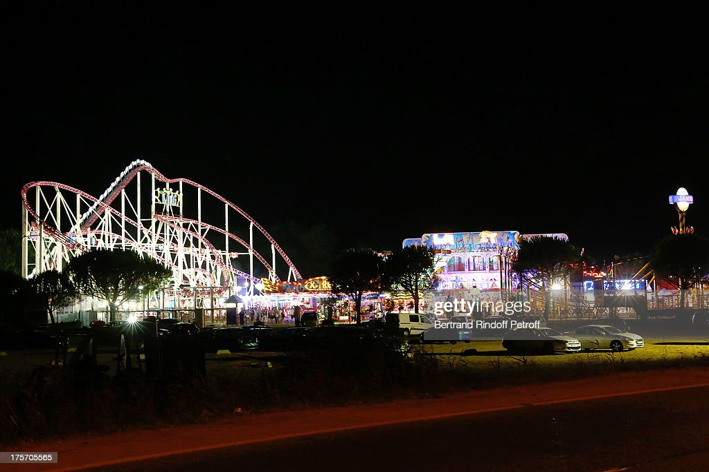 View of Funfair 'Luna Park' during day 7 of the 29th Ramatuelle Festival on August 6, 2013 in Ramatuelle, France.